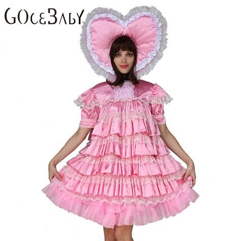 sissy baby in satin dress sissy baby dress promotion shop for promotional sissy baby