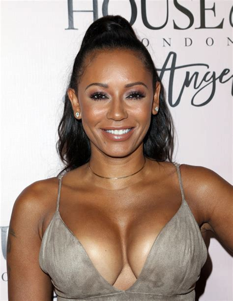 Mel B Grabs A Handful Of Beckhams Breast Assets by Mel B Exposes Killer Chest Bigger Than Footballs