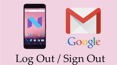 how to sign out of on android how to sign out or remove account in android gmail how to log out sign out remove gmail or