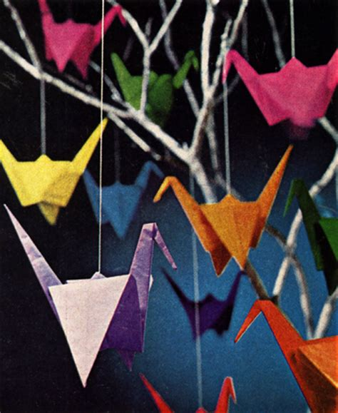 A Thousand Origami Cranes - summer s bedroom style paper cranes 500 days of