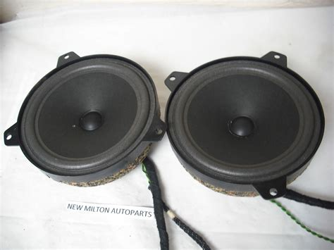 Front Door Speaker Bmw E46 Front Door Speakers And Tweeters