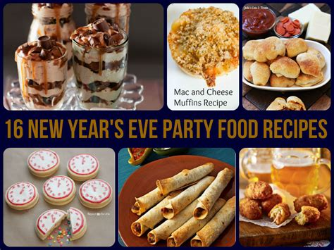 how to make new year treats 16 new year s food recipes