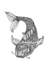 zendoodle coloring pages zendoodle fish printable coloring page by artbymytha on