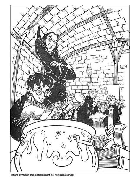 harry potter coloring pages sorcerer harry potter im klassenzimmer zum ausmalen zum ausmalen