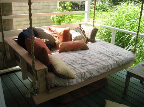swinging day bed swing beds the owner builder network