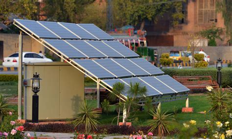 solar panels for park homes solar energy to be brought into national power grid pakistan