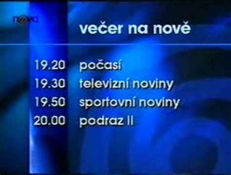 Tv Novax uk 225 zka z tv p蝎ehled 1996