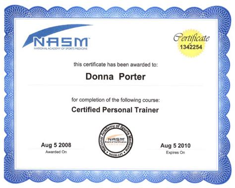 trainer certificate template fitness tips fitness guide fitness