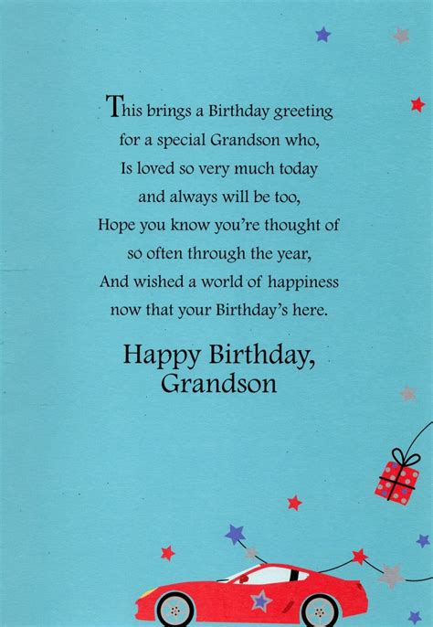 card and greetings grandson happy birthday greeting card lovely greetings