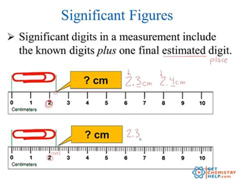 Significant Digits And Measurement Worksheet by Chemistry Lesson Significant Digits Measurements Get