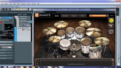 tutorial membuat drum elektrik tutorial 1 basic menggambar membuat drum di cubase