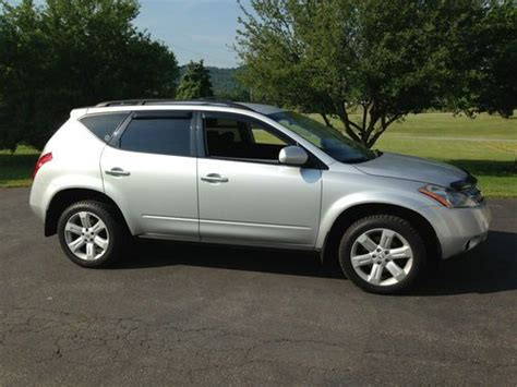 nissan murano gas type find used 2006 nissan murano s sport utility 4 door 3 5l