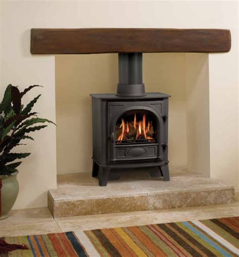 Free Standing Gas Log Fireplace by Stockton 5 Fireplace By Design