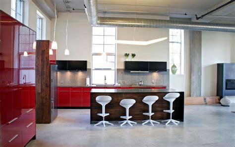 Nolo Kitchen by Nolo Loft Industrial Kitchen Minneapolis By