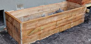how to build a raised garden bed with sleepers bunnings