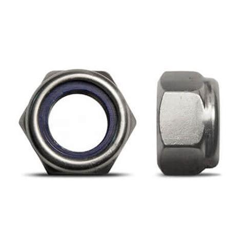 Nut Nyloc Nut Stop Nut Mur Nilon Diameter 18 Mm M Diskon self locking nut stainless steel marine grade 316 a4