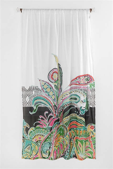 Girly Window Curtains This Is It Girly Paisley Curtain For Bathroom My Style Pinterest Gossip News