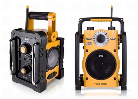 rugged stereo rugged and waterproof outdoor speakers by britz electronics homecrux