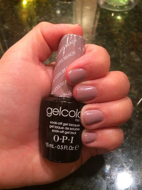 less color opi gelcolor taupe less from the new brazil