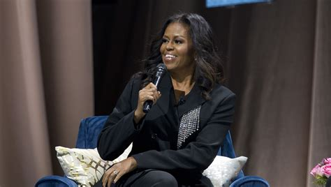 michelle obama capital one arena michelle obama gets surprise visit flowers from husband