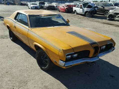 kelley blue book classic cars 1987 mercury cougar lane departure warning auto auction ended on vin 0f93m543885 1970 mercury cougar xr7 in ca los angeles