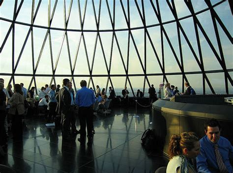Bar At The Top Of The Gherkin by 6 Drinks On Top Of The Gherkin 1000 Things To Do