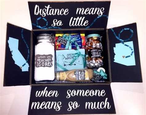 crhistmas ideas for my longterm boyfriend 25 best ideas about distance gifts on distance birthday distance