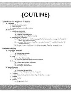 Report Outline by Memes Report Outline Flickr Photo
