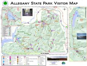 State Parks Map our frank adventures allegany state park new york state