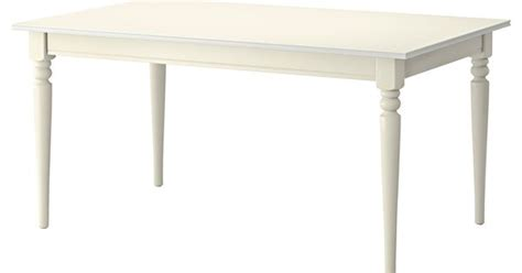 White House Dining Room Ingatorp Extendable Table White Extendable Dining Table