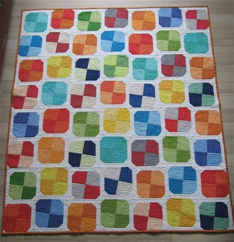 Simple Patchwork Quilt Pattern - quarter friendly patchwork quilt pattern for a simple