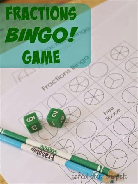 printable fraction dice multiplication bingo game printable free fractions bingo