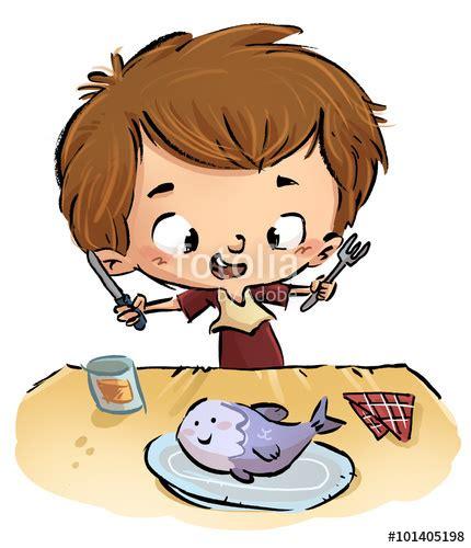 imagenes niños almorzando quot ni 241 o comiendo pescado quot fotos de archivo e im 225 genes libres