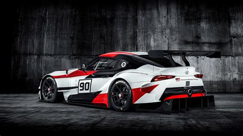 2018 Toyota Concept by 2018 Toyota Gr Supra Racing Concept Wallpapers Hd Images