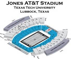 tech stadium map jones at t stadium tech football stadium