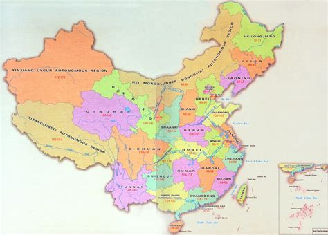 political map of china with cities political map of china in large version china travel map