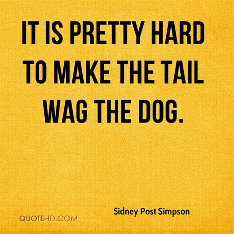 wagging the wag the quotes like success