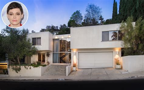 house of rose rose mcgowan puts hollywood hills home on market to pay