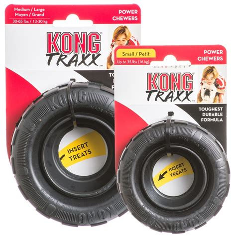 heavy duty toys kong kong traxx rubber heavy duty chews
