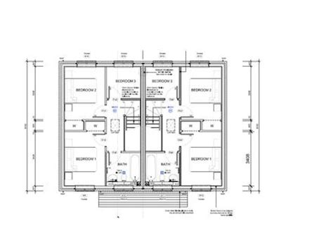 2 Bedroom Semi Detached House Plans Terraced House Semi Detached House Designs