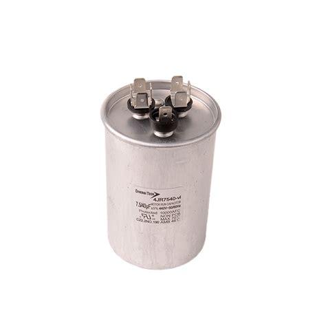 capacitor tariff code motor run capacitor 440vac dual capacitance metal can diversitech