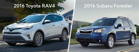 Is Subaru Owned By Toyota Subaru Forester Vs Toyota Rav4 Near Eau Dealer