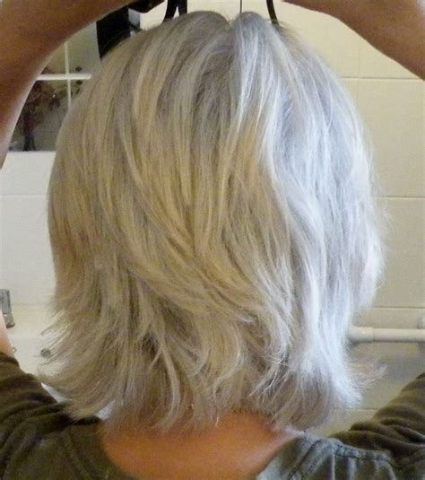 shoulder length hairstyles gray hair medium length gray hairstyles short hairstyle 2013