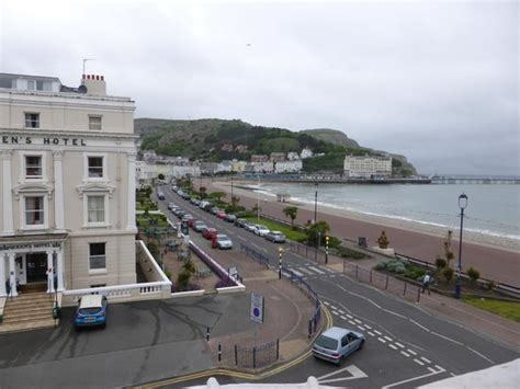 house hotel llandudno view from side window