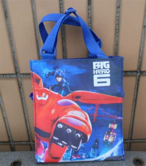 Promo Baymax Lunch Bag 2015 new big 6 lunch bag boys