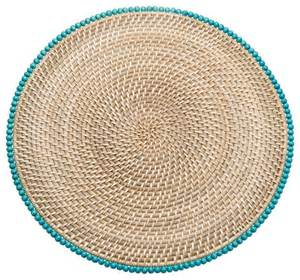 Nautical Outdoor Lighting Sconces Round Rattan Placemats With Wood Beads Set Of 2 Beach