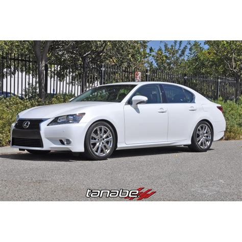 lexus gs350 f sport lowered tanabe tnf170 nf210 lowering springs lexus gs350 incl