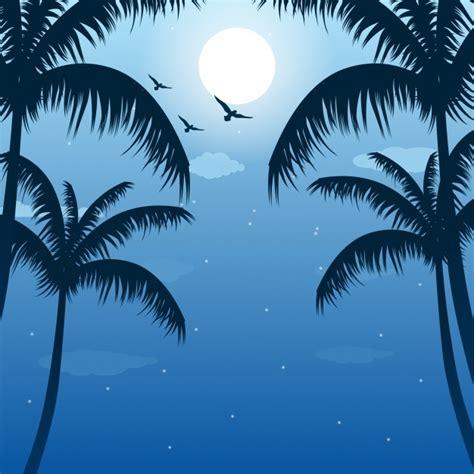 palm trees background palm trees background design vector free