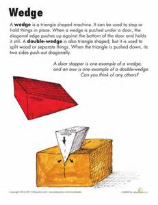 machine wedge simple machines wedge simple machines worksheets and