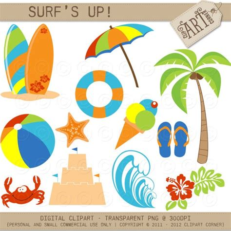 Surf The Web With The Umbrella by Beachy Clip Cliparts Co
